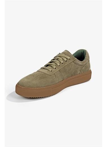 Krähe Cuervo Vizon Süet Minimal Sneaker Vizon